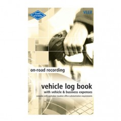 VLER - Pocket Vehicle Log and Expenses Record Book