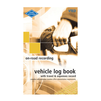 Vted Combined Vehicle Log And Travel Amp Expenses Record Book