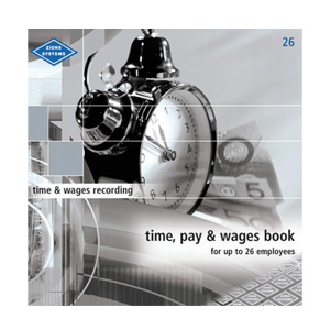26 - Time, Pay & Wages Book - Medium