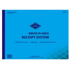 31REC - Receipt Writing Book