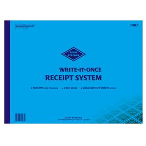 31REC - Receipt Writing Book