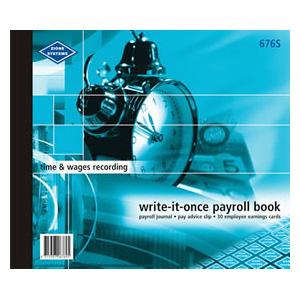 676S - Payroll Book