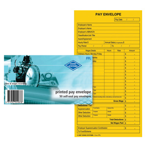 PPL - Printed Pay Envelope