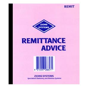 Remit – Remittance Advice Pad