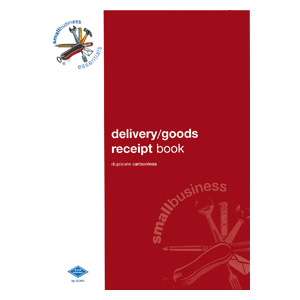 SBE4 - Delivery/Goods Receipt Book