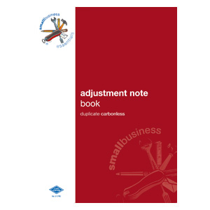 SBE7 - Adjustment Note Book