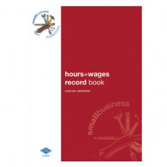 SBE9 - Hours & Wages Record Book