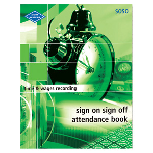 SOSO - Sign On Sign Off Attendance Book