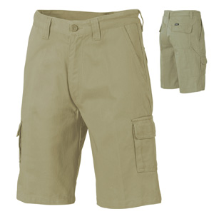 3302 - Cotton Drill Cargo Shorts