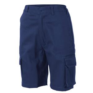 3308 - Ladies Cotton Drill Cargo Shorts
