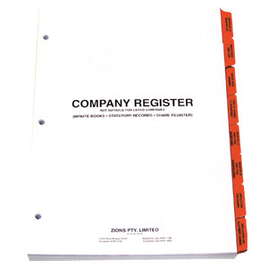 COYR - Company Register - Refill