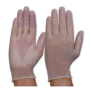 DVNPF - Clear Vinyl Gloves - Powder Free