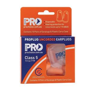 EPOU-10 - Disposable Earplugs - 10 Pack