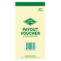 HPV - Poker Machine Payout Voucher Book