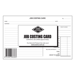 jcc job costing card