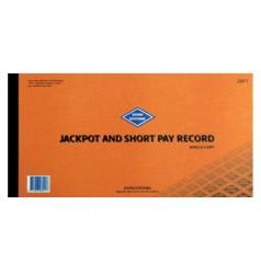 JSP1 - Jackpot and short Pay Record (Single)