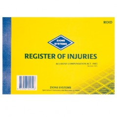 ROID - Register of Injuries Book - Victoria