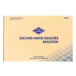 SHDB – Second-Hand Dealers Register