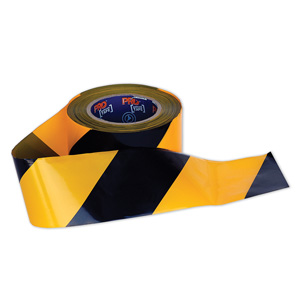 YB10075 - Barricade Tape - Yellow/Black