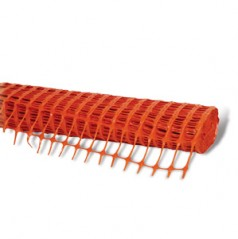 BM8 - Orange Barrier Mesh Fencing