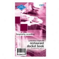 CBT5 - Carbonless Triplicate - pack of 5