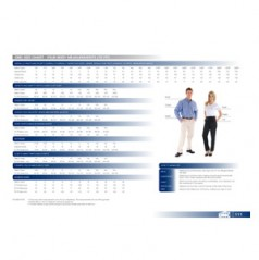 Corporate Waer Size Chart