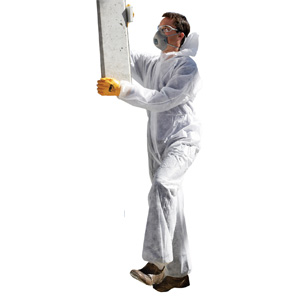 DOW - Disposable Coveralls - White