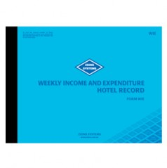 WIE - Weekly Income and Expenditure Hotel Record Book